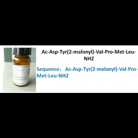 Ac-Asp-Tyr(2-malonyl)-Val-Pro-Met-Leu-NH2