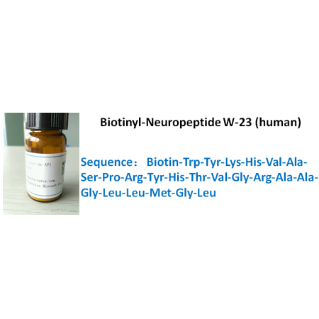 Biotinyl-Neuropeptide W-23 (human)