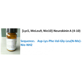 [Lys5, MeLeu9, NIe10]-Neurokinin A (4-10)