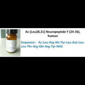 Ac-[Leu28,31] Neuropeptide Y (24-36), human