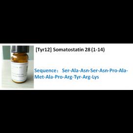 [Tyr12] Somatostatin 28 (1-14)