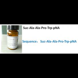 Suc-Ala-Ala-Pro-Trp-pNA