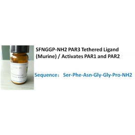 SFNGGP-NH2 PAR3 Tethered Ligand (Murine) / Activates PAR1 and PAR2