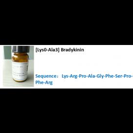 [Lys0-Ala3] Bradykinin