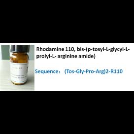 Rhodamine 110, bis-(p-tosyl-L-glycyl-L-prolyl-L- arginine amide)