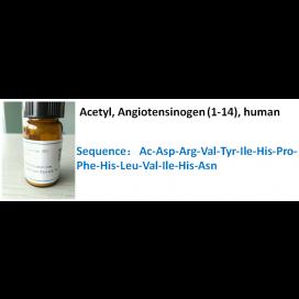 Acetyl, Angiotensinogen (1-14), human