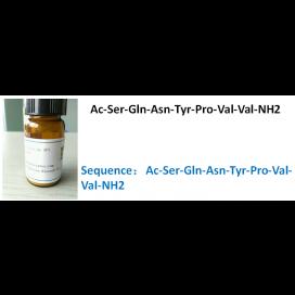 Ac-Ser-Gln-Asn-Tyr-Pro-Val-Val-NH2